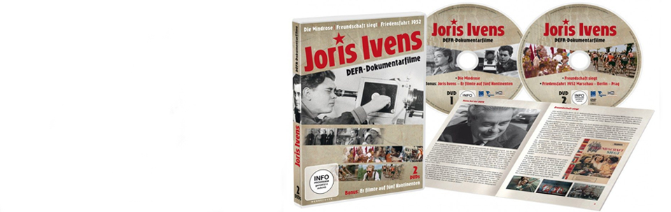 New DVD with Ivensfilms for DEFA released