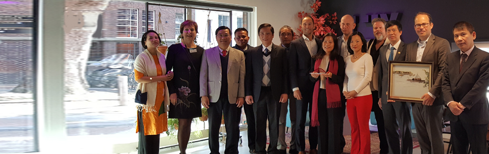 Visit delegation of Quang Tri province to Nijmegen