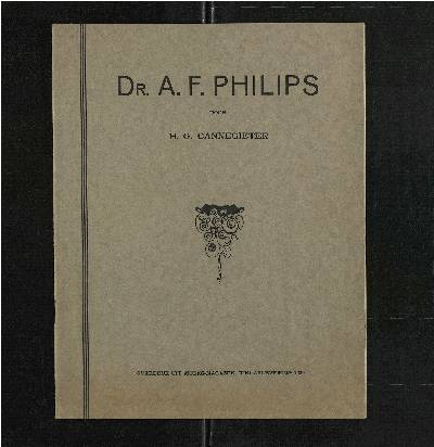 aantekeningen<br />Philips Radio